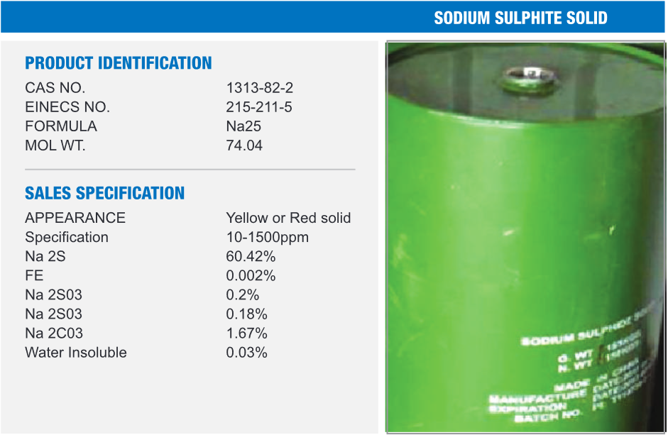 Sodium Sulphate Solid